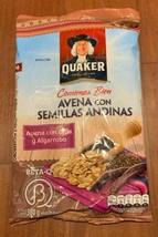 Avena Quaker con Semillas Andinas Oatmeal with Chia & Algarrobo From Peru 380gr  - $15.82
