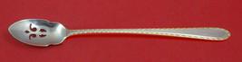 """Golden Winslow By Kirk Sterling Silver Olive Spoon Pierced Long 7 3/8"""" Custom - $75.05"""