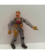 "Gray Camouflaged Articulated Soldier Poseable Action Figure 4"" - $3.95"