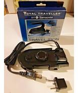 Travel Iron Royal Traveler by Samsonite Dual Voltage Brand New NOS  - $19.79