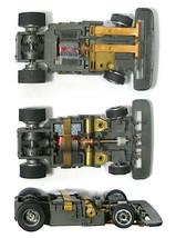 1pc 1991 TYCO TCR GRAY Hub Narrow Chassis Slotless Slot Car Total Control Racing - $9.89