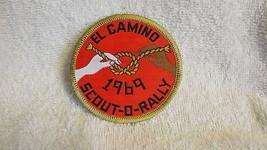 EL CAMINO 1969 SCOUT O RALLY VTG RARE OLD BSA PATCH - $14.20