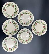 Johnson Bros Staffordshire Old Granite Gretchen Bread-Butter Plates 6-3/... - $34.60