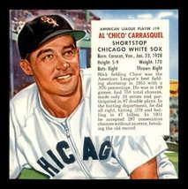 VINTAGE 1954 Red Man AL #19 Chico Carrasquel  EXMT  - $27.75