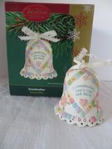 Carlton Heirloom Grandmother 2004 Christmas Bell Ornament - $8.59