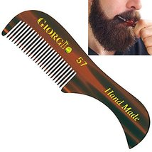 "Giorgio G57 2.75"" X-Small Men's Fine Toothed Beard and Moustache Combs Pocket Si image 11"