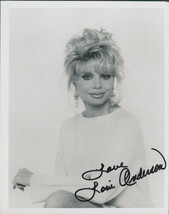 Loni Anderson signed  photo.Stunning !! WKRP> Love Boat. - $16.95