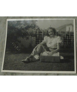 "Nice 9.75"" by 8"" Black & White Vintage Photo, VG COND - $1.97"