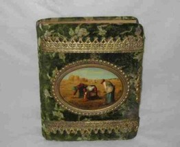 """Neat 8"""" X 10"""" Victorian Photo Album With Celluloid Picture - $232.49"""