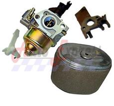 Honda GX160 5.5HP Carburetor Intake Spacer & Air Filter Fits Honda 5.5hp - $23.00