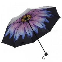 E-SMART Ultraviolet-proof Folding Pocket Sun Umbrella - Blue Purple - $26.03