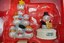 Hallmark Christmas Concert Snowmen Collector's Set Special Edition - Repaint image 5