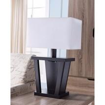 Contemporary Style Sturdy Table Lamp Dark Brown - Benzara - $124.99