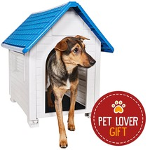 Comfy Safe Dog Pet House Waterproof All Weather Durable Shelter Home Out... - $75.22