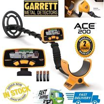 Garrett Ace 200 Metal Detector with Submersible Coil & Batteries - Free ... - $6.539,50 MXN