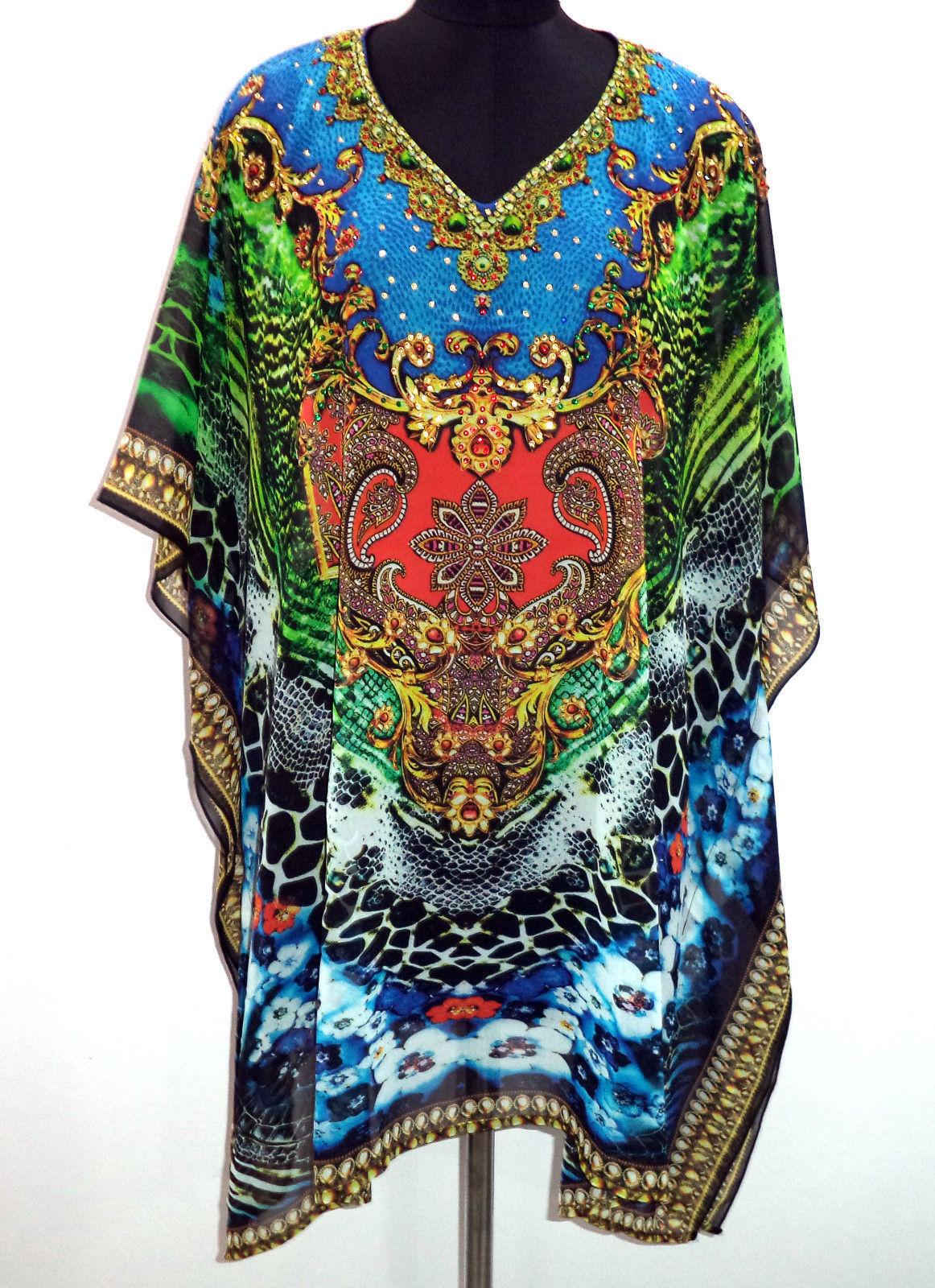 681ea7eff6 Digital Print Georgette Kaftan, Embellished and 50 similar items. S l1600