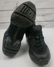 Capezio Fierce Dansneaker Split Sole Size 7 Jazz Hip Hop Shoes Black image 2
