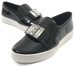 Michael Kors Black Slip On Shoes Casual Sneakers HL16D Women Adult Size ... - $68.98
