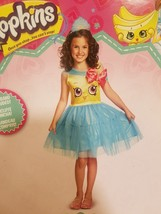 Shopkins Queen Cupcake Queen Classic Costume Small 4-6 New FREE ship dre... - £13.21 GBP