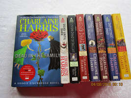 Dead Series Books Charlaine Harris~7 Paperbacks/1 Hardcover - $17.99
