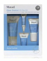 Murad Clear Control 30 Day Discovery Kit Featuring Acne Clearing Solution 4 Pcs - $18.80
