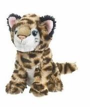 "Wildlife Artists Ocelot Sitting Plush Toy 7"" High - $11.71"