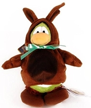 Disney Club Penguin Series 7 Bunny Costume With Gold Coin - $19.99