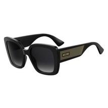 MOSCHINO MOS-016-S-807-54  Sunglasses Size 54mm 140mm 21mm Black Brand N... - $57.59