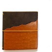 Espresso Ochre SQUARE TN Journal. Elizabeth Craft Designs Art Journal
