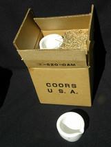 9 Vintage New Coors Ceramic or Porcelain Mortar Bowls, 520-0AM, #60313, ... - $74.99