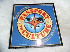 EUC Passport To Culture Board Game - $26.59