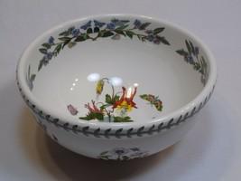 """Portmeirion The Botanic Garden Large Serving Bowl 9"""" Slender Columbine B... - $49.99"""