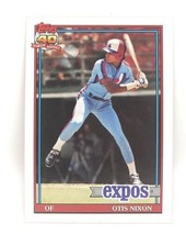 1991 Topps Baseball Card #558 - Otis Nixon - Montreal Expos - OF - $0.99