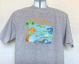Princess Cruises Western Caribbean T Shirt Mens XL Gray Cotton Escape Co... - $21.73