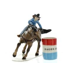 Hagen Renaker Horse Rodeo Barrel Racer Ceramic Figurine image 7