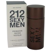 212 Sexy por Carolina Herrera Espray Colonia (Probador) 98ml / 100 ML Hombre - $51.82