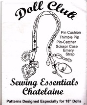 Susan York Chatelaine Kit Sewing Essentials 18 ... - $34.64
