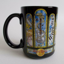 Hard Rock Cafe Mug Music Church Stained Glass Design Washington DC Coffe... - $19.79