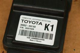 Toyota Seat Occupant Detection Sensor Module Computer 89952-0W160 (K1) image 3