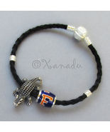 University Of Florida Football Team Bead N Florida Gators Mascot Charm B... - $36.00