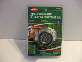 Voltax 7 LED Headlamp Water Resistant Battery powered - $8.90