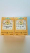 Tadin Tea chamomile herbal tea  lot of 2 caffeine free 24 bags per box - $16.95
