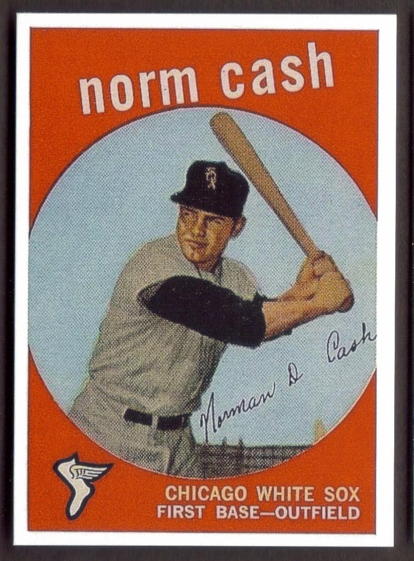 NORM CASH Rookie Card RP #509 White Sox RC '59 - $3.19