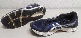 ASICS GEL EXCITE 2 Mens Blue Silver White Athletic Shoes Size 10.5 (T423N) image 1