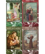 8 Mini Lives of Saints and Guardian Angel - Item EB348 - Information Bio... - $9.99