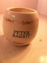 2003 Teleflora --BEATRICE Potter Vase / PLANTER--PETER RABBIT---FREE SHIP--VGC - $26.06