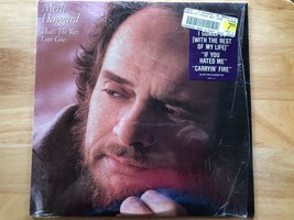 "Merle Haggard ""That's the way love goes"" Vinyl record Album Hype sticker - $9.87"
