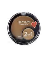 Revlon ColorStay 2-in-1 Compact Makeup & Concealer Sand Beige 180: makeup .38 Oz - $11.39