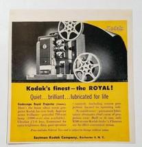 1954 Print Ad Kodak Kodascope Royal Movie Projectors Rochester,NY - $11.28