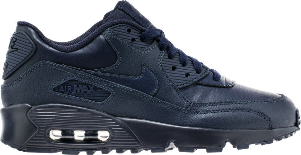 new arrival 87720 5f853 Nike Air Max 90 Leather (Gs) Shoes Obsidian and 11 similar items. S l1600